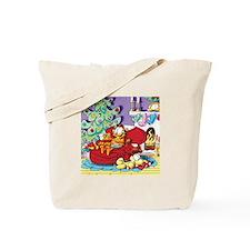 WAITING FOR SANTA! Tote Bag