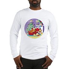 WAITING FOR SANTA! Long Sleeve T-Shirt