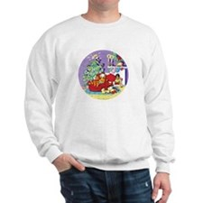 WAITING FOR SANTA! Sweatshirt