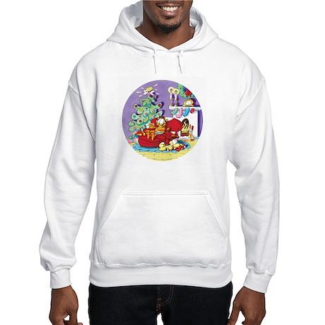 WAITING FOR SANTA! Hooded Sweatshirt