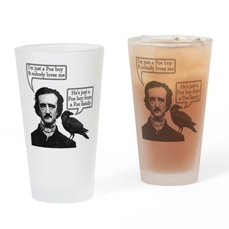 Poe Boy II Drinking Glass