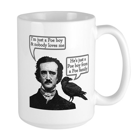 Poe Boy II Large Mug