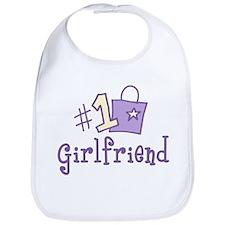 #1 Girlfriend Bib