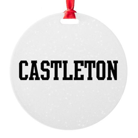 CASTLETON Round Ornament