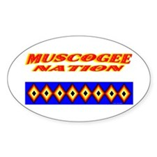 MUSCOGEE NATION Decal