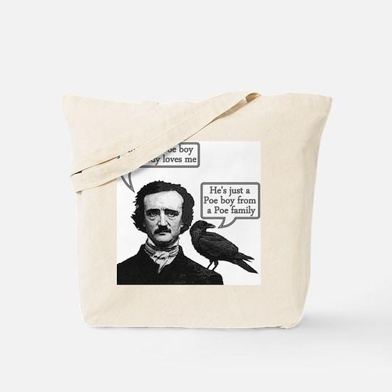 Poe Boy II Tote Bag