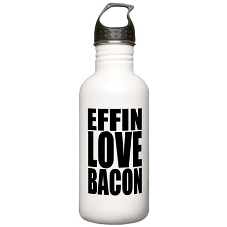 EFFIN LOVE BACON Stainless Water Bottle 1.0L