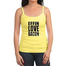 EFFIN LOVE BACON Jr.Spaghetti Strap