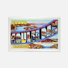 Grand Coulee Dam Washington Rectangle Magnet
