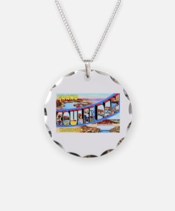 Grand Coulee Dam Washington Necklace