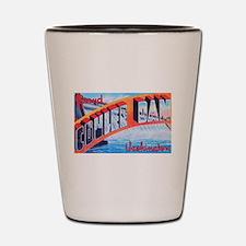 Grand Coulee Dam Washington Shot Glass