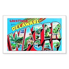 Delaware Water Gap Greetings Decal