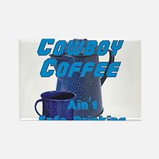 cowboy coffee Magnets