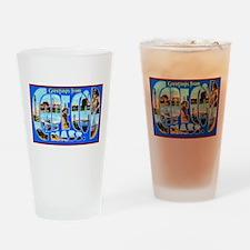 Cape Cod Massachusetts Drinking Glass
