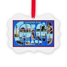 Cape Cod Massachusetts Ornament