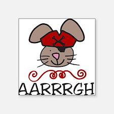 """AARRRGH! Square Sticker 3"""" x 3"""""""