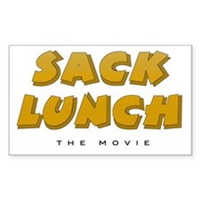 Sack Lunch - Rectangle Decal