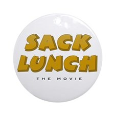 Sack Lunch - Ornament (Round)