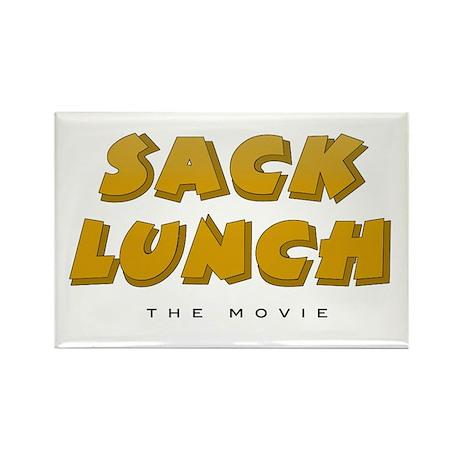 Sack Lunch - Refrigerator Magnet (10 pack)