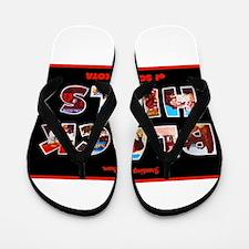 Black Hills South Dakota Flip Flops