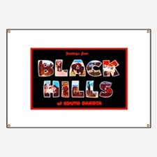 Black Hills South Dakota Banner