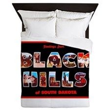 Black Hills South Dakota Queen Duvet