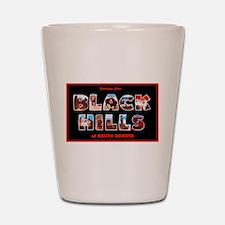 Black Hills South Dakota Shot Glass