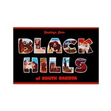 Black Hills South Dakota Rectangle Magnet