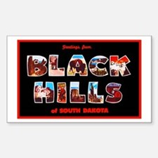 Black Hills South Dakota Decal