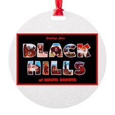 Black Hills South Dakota Ornament