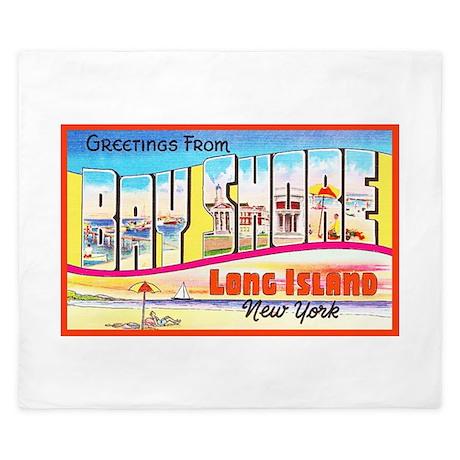Bay Shore Long Island King Duvet