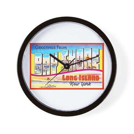 Bay Shore Long Island Wall Clock