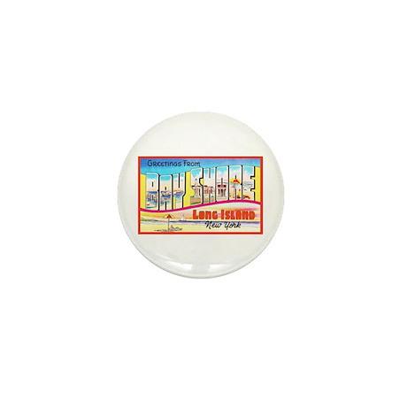 Bay Shore Long Island Mini Button