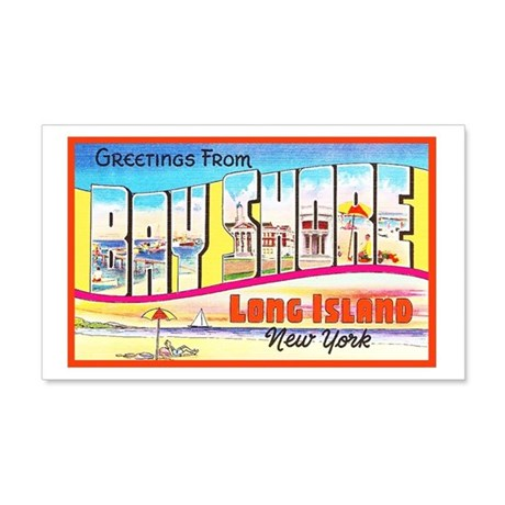Bay Shore Long Island 20x12 Wall Decal