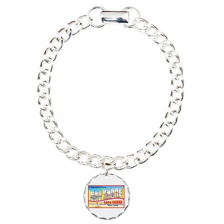 Bay Shore Long Island Charm Bracelet, One Charm