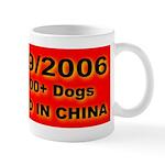 50,000+ Dogs Killed In China Mug