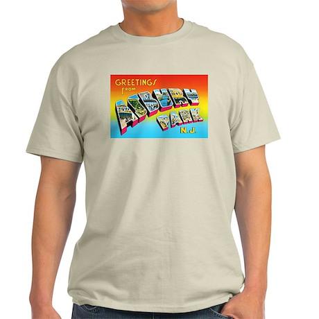 Asbury Park New Jersey Light T-Shirt