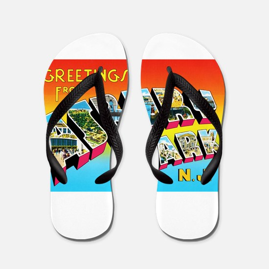 Asbury Park New Jersey Flip Flops
