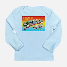 Asbury Park New Jersey Long Sleeve Infant T-Shirt
