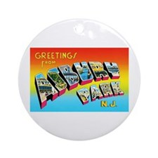 Asbury Park New Jersey Ornament (Round)