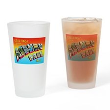 Asbury Park New Jersey Drinking Glass