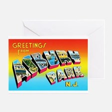 Asbury Park New Jersey Greeting Card