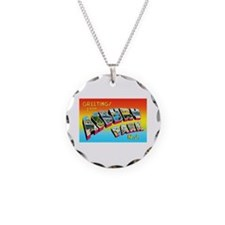 Asbury Park New Jersey Necklace