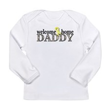 welcome home daddy acu Long Sleeve T-Shirt