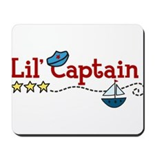 Lil Captain Mousepad