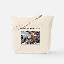 Morel Mushroom Hunter Tote Bag