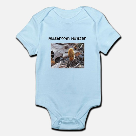 Morel Mushroom Hunter Infant Bodysuit