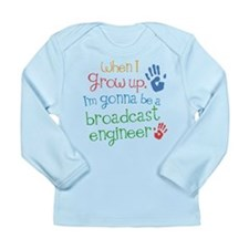 Future Broadcast Engineer Long Sleeve Infant T-Shi