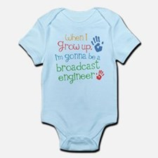 Future Broadcast Engineer Infant Bodysuit