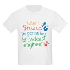 Future Broadcast Engineer T-Shirt